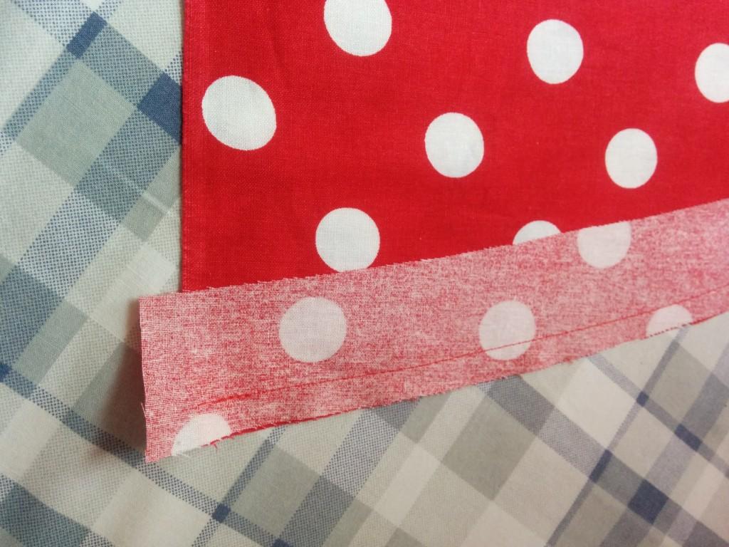 Hem sewn